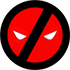 Deadpool T-Shirts - Deadpool Logo Tassen und Accessoires