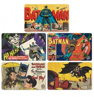 Batman Rettet Gotham City - DC Comics - 5er Set - Frühstücksbrettchen