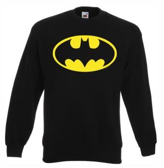 Batman Logo - DC Comics - Superhero - Fruit Of The Loom - Classic - Sweatshirt