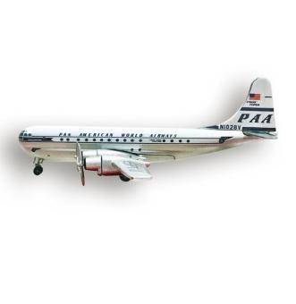 Pan American World Airways Boeing 377 Startocruiser - PAA Boeing 377 - Herpa - 70th Edition - Flugzeugmodell - Miniaturmodell