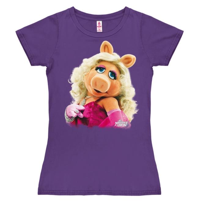 Muppets - Miss Piggy -Portrait violet | M