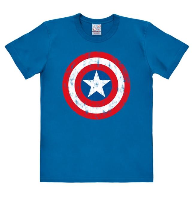 MARVEL - CAPTAIN AMERICA SHIEL azure blue   M