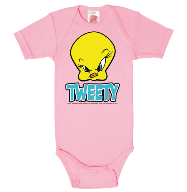 LOONEY TUNES - TWEETY HEAD light pink | 74