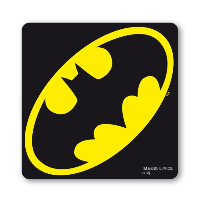 BATMAN - LOGO black | OS