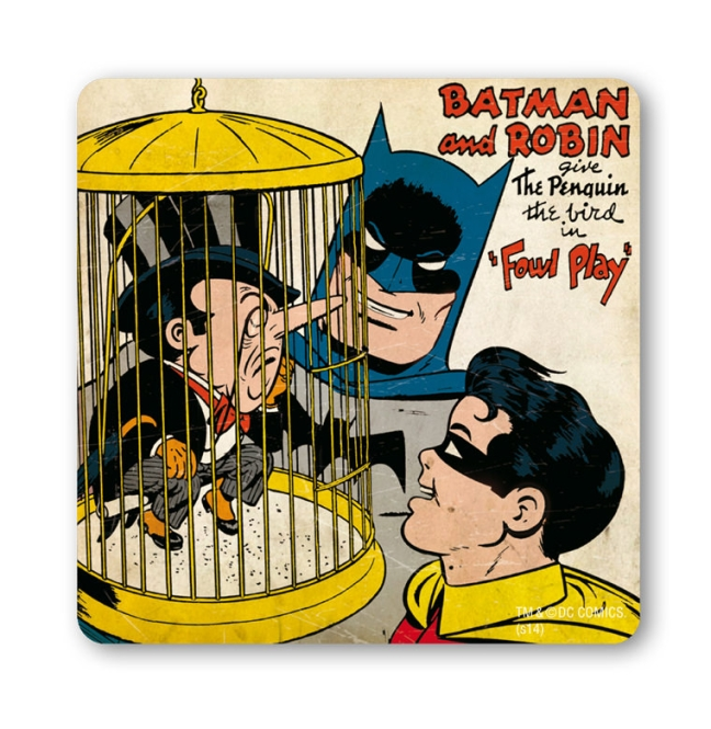 BATMAN AND ROBIN - THE PENGUIN farbig | OS