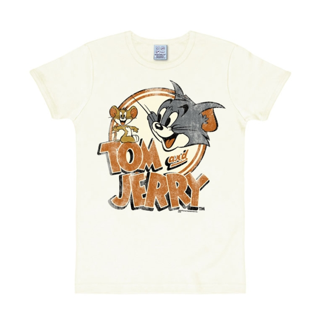 Tom & Jerry - Logo almost white   S