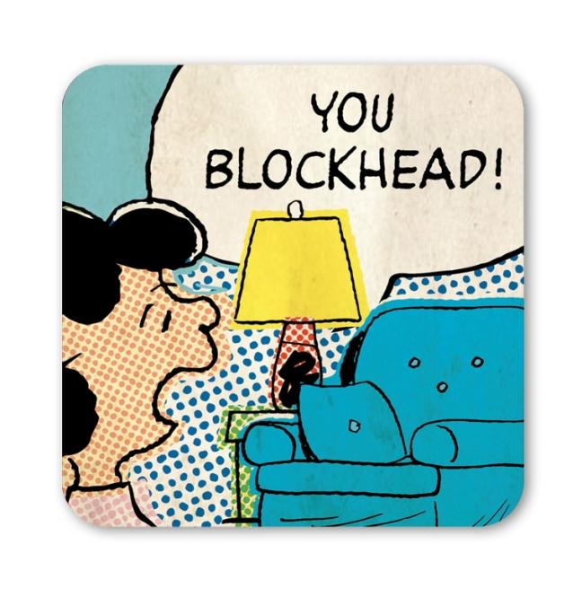PEANUTS - LUCY - BLOCKHEAD