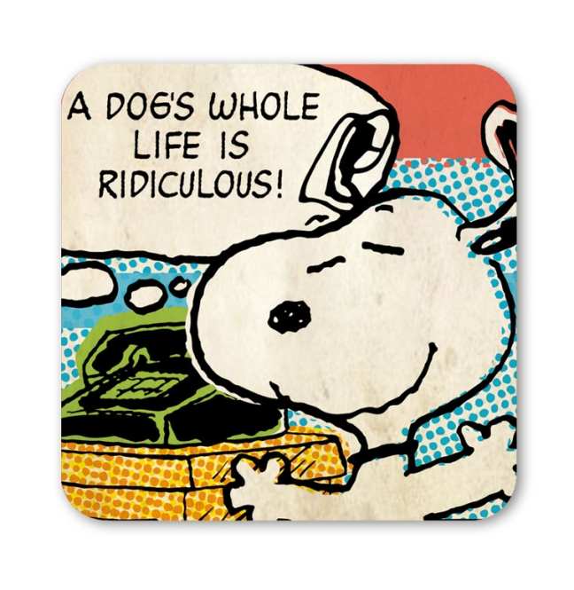PEANUTS - SNOOPY - RIDICULOUS farbig | OS