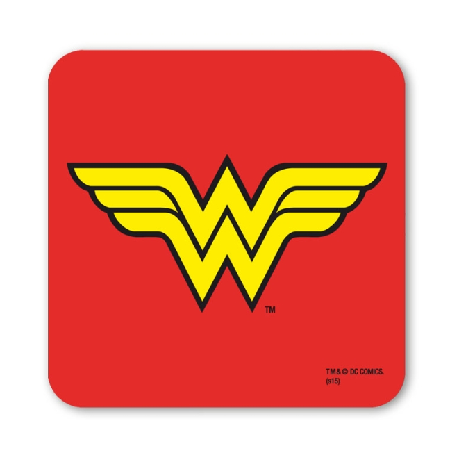 DC - WONDER WOMAN - LOGO red | OS