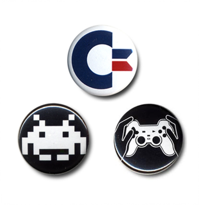 "BUTTON SET ""COMPUTERNERDS"""