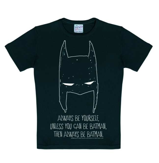 BATMAN - ALWAYS BE YOURSELF black | 170