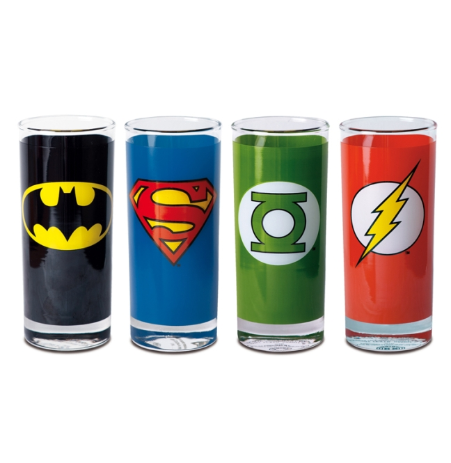 DC - SET OF FOUR SUPERHERO