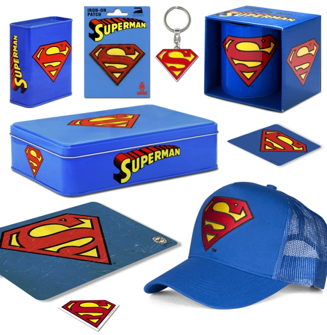 SUPERMAN FAN SET