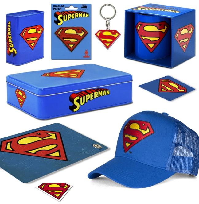 SUPERMAN FAN SET