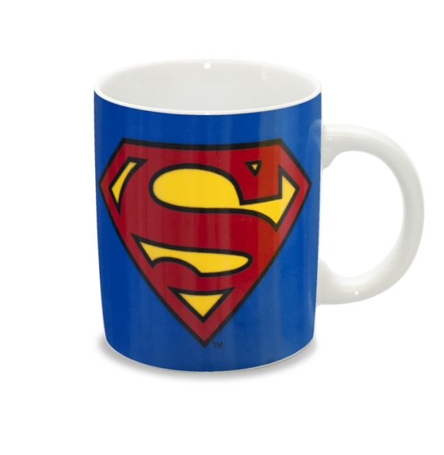 SUPERMAN - LOGO MUG azure blue | OS