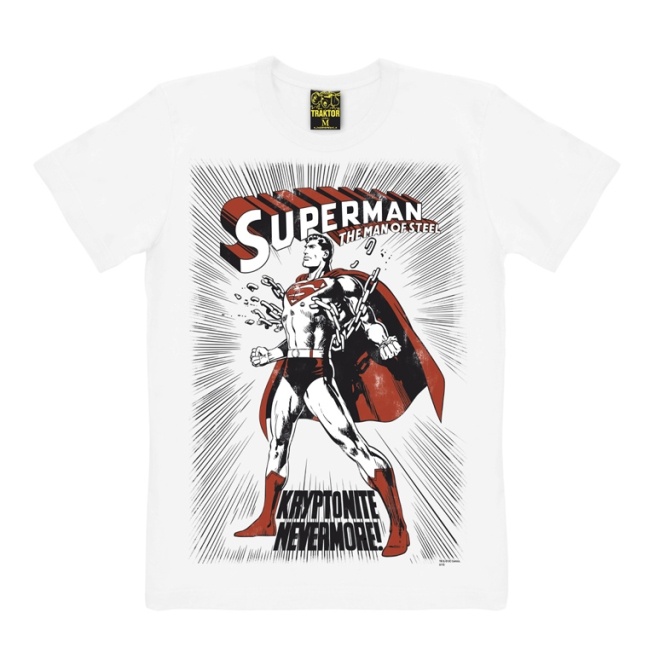 SUPERMAN - KRYPTONITE white | XXL