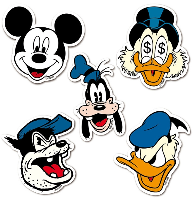DISNEY - LOGO SET