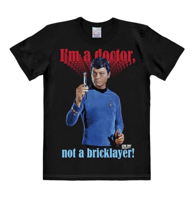 STAR TREK - I'M A DOCTOR NOT A