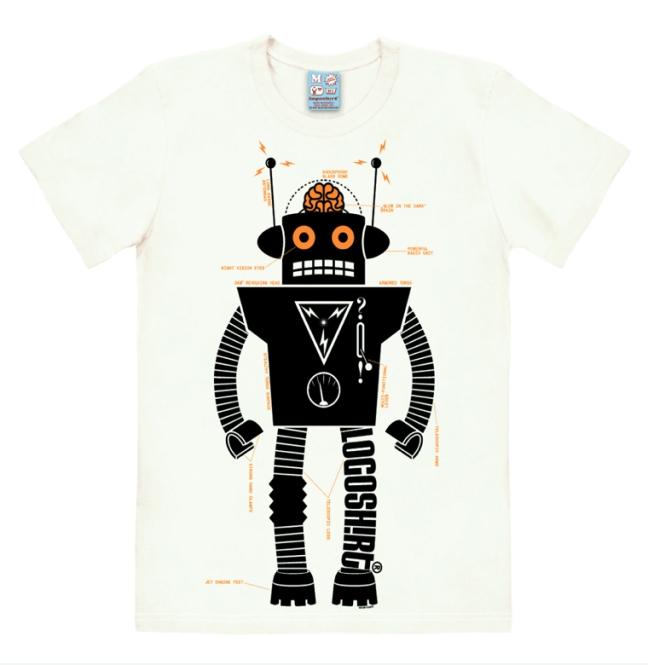 LOGOSHIRT - ROBOTER