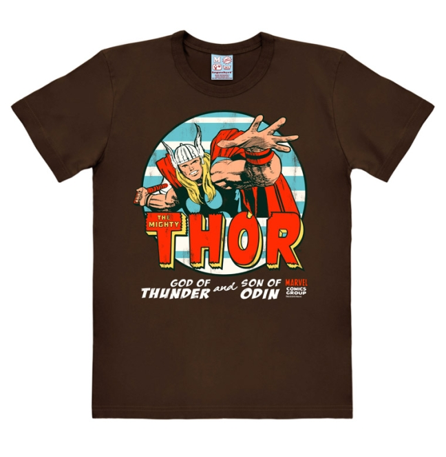 MARVEL - THE MIGHTY THOR dark brown | XS