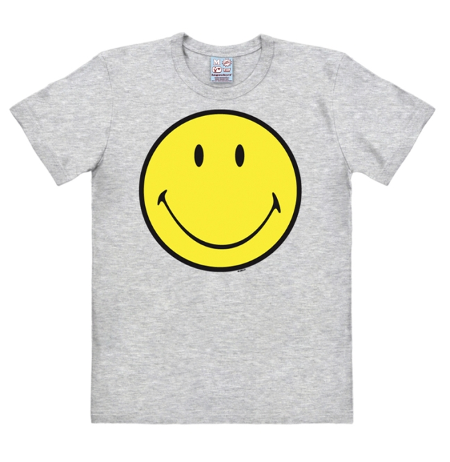 SMILEY grey-melange | XL