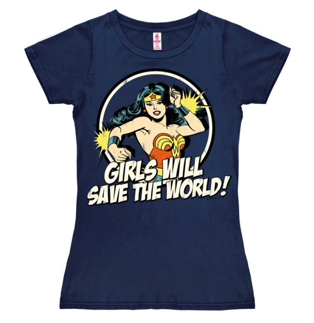 DC - Wonder Woman - Girls Will