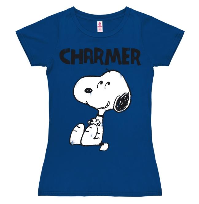 PEANUTS - CHARMER azure blue | XS