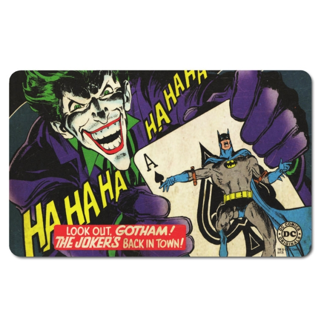 BATMAN - THE JOKER'S BACK IN T