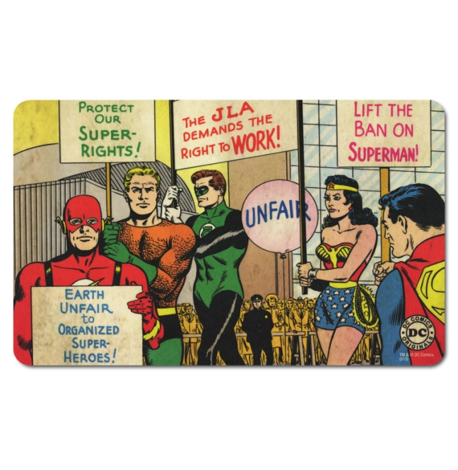 DC - JUSTICE LEAGUE - PROTECT