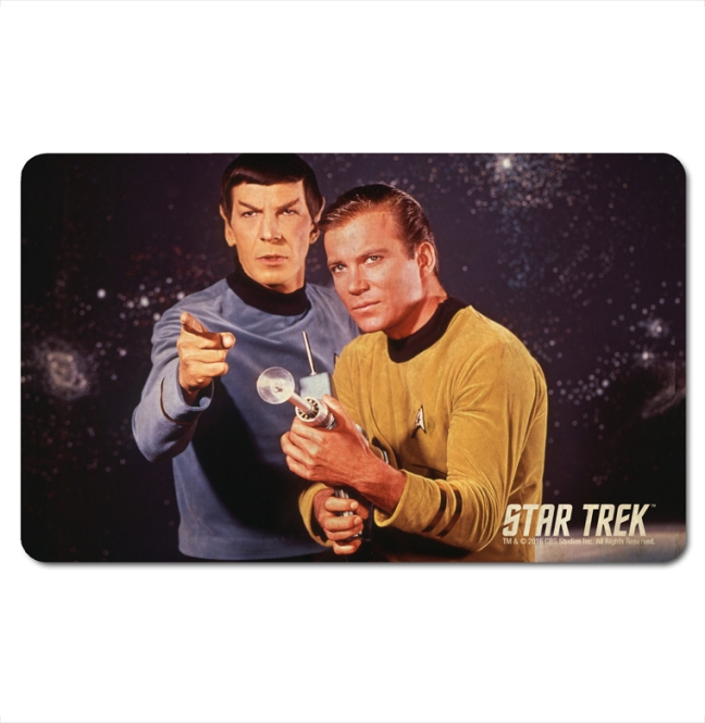 Star Trek - Spock And Kirk