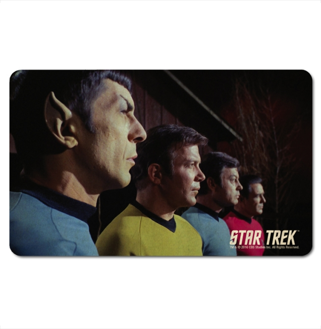 STAR TREK - SPOCK, KIRK, MC CO