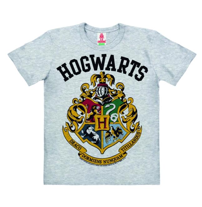 hogwarts logo harry potter wappen kinder organic t shirt harry potter hogwarts logo. Black Bedroom Furniture Sets. Home Design Ideas