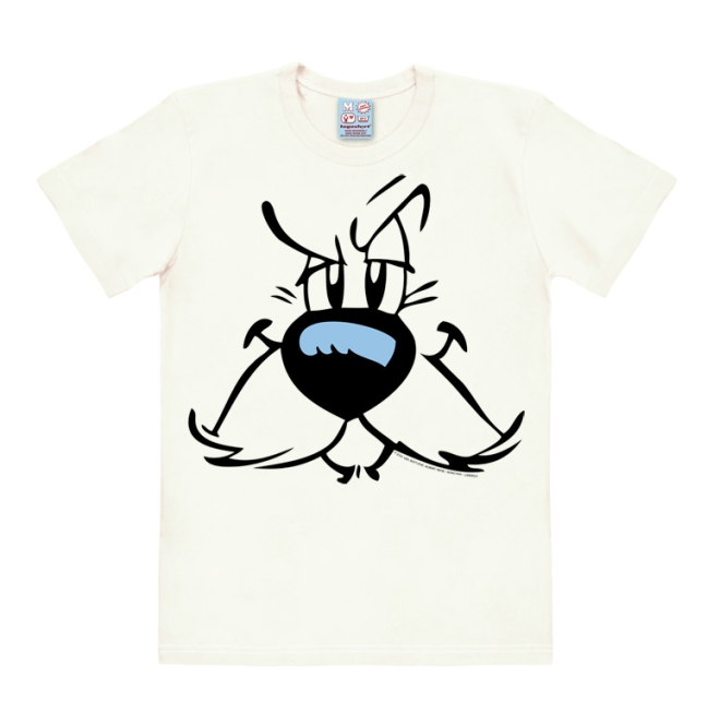 ASTERIX - IDEFIX - FACES almost white | 3XL
