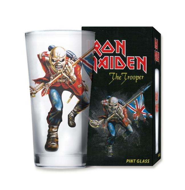 Pint Glass Frost - Iron Maiden