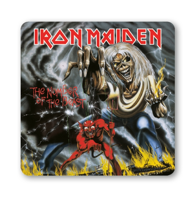 Iron Maiden - The Number Of Th farbig | OS