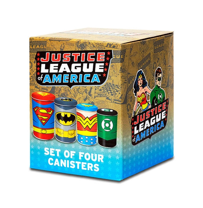 CAN4JL01 Canisters Set Justice