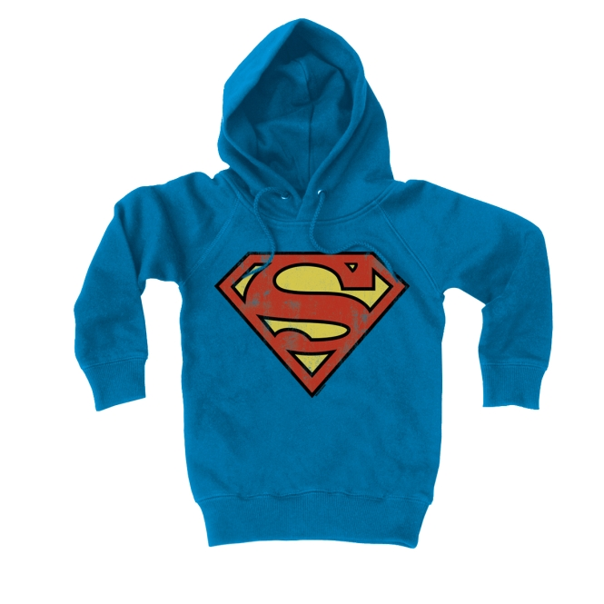 SUPERMAN - LOGO azure blue | L