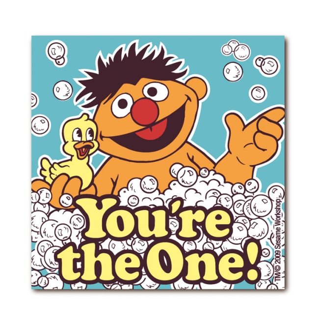 Sesame St. - Ernie - The One