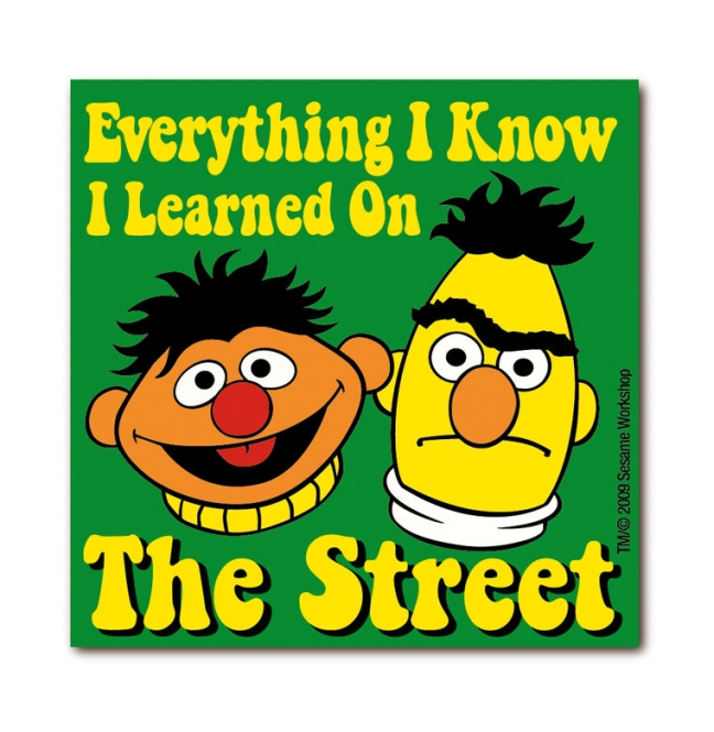 Sesame St. - Everything I know