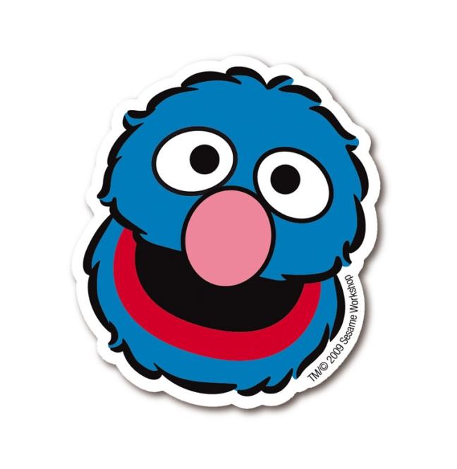 Sesame Street - Grover farbig | OS