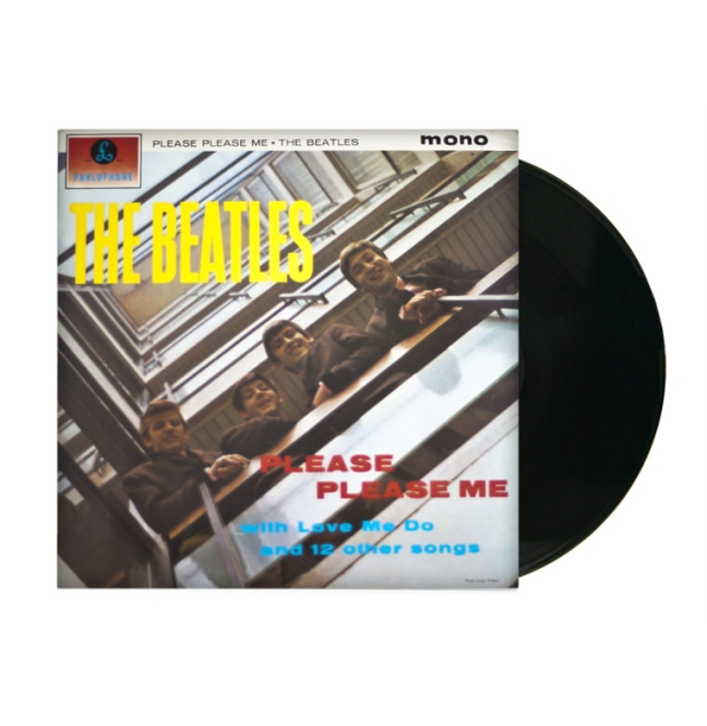 LP - BEATLES PLEASE PLEASE ME