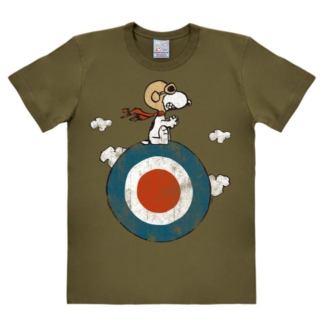 Peanuts - Snoopy/Target olive | 3XL