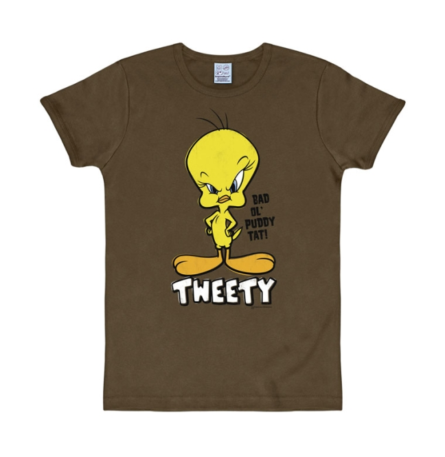 LOONEY TUNES - TWEETY mustang brown | M