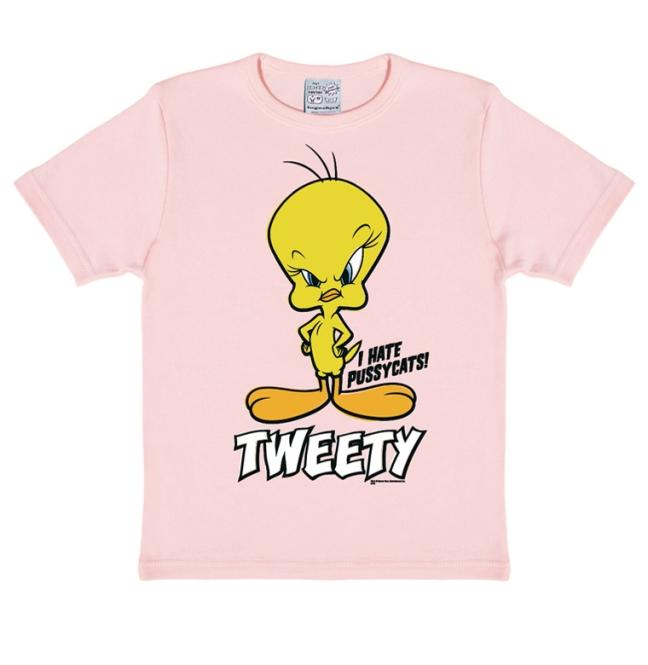 Looney Tunes - Tweety pastel pink   104