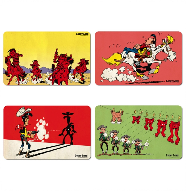 LUCKY LUKE SET