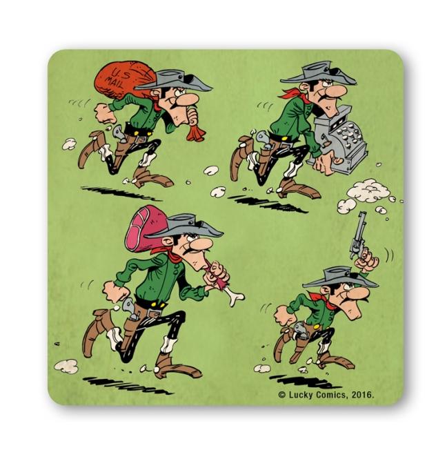 Lucky Luke-The Daltons-Robbery