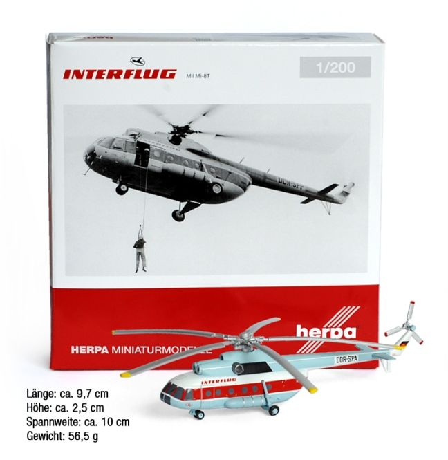 INTERFLUG HELICOPTER MODEL Mi-