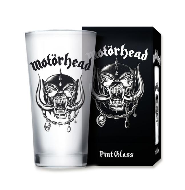 Pint Glass Frost - Motörhead