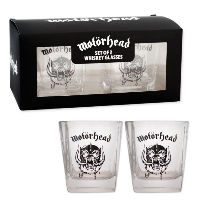 Whiskey Glass 2er - Motörhead