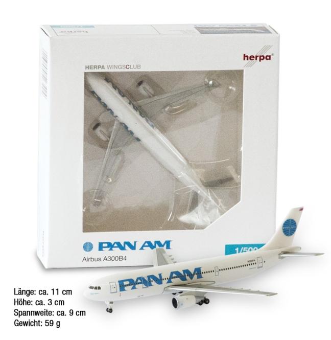 PAN AM PLANE MODEL A300B4
